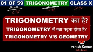 What is Trigonometry? Chapter 8 Introduction to Trigonometry Class 10 Maths