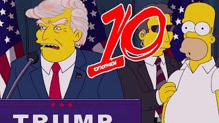 Dziesięć rzeczy które przewidzieli Simpsonowie!