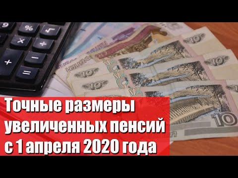 Названы точные размеры пенсий с 1 апреля 202 года