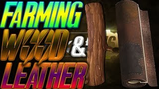 FALLOUT 76 farming wood and leather | FALLOUT 76 where to farm leather and wood