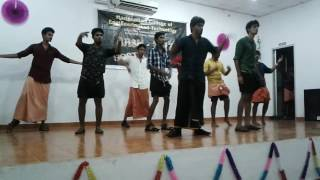 Macet Hostel_day #'BASH_2K17' Celeb Dance Performance by 3rd years /23-02-2017