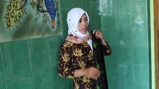 Batik  Cap Kombinasi Tulis Motif Apon-apon