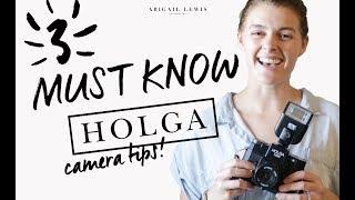 HOLGA Camera | 3 MUST KNOW Tips Before Shooting