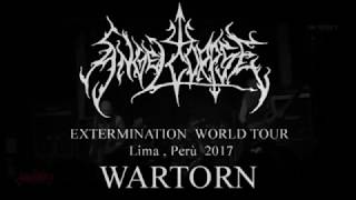 Angelcorpse live 2017 , Lima Perù - WARTORN