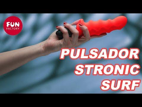 Vibrador Pulsador Fun Factory Stronic Surf