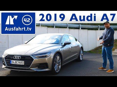 2019 Audi A7 Sportback 45 TFSI quattro S-tronic - Kaufberatung, Test deutsch, Review, Fahrbericht