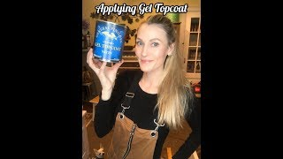 How To Apply General Finishes Topcoat