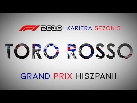 F1 2018 KARIERA [LIVE] | Sezon 5 | GP Hiszpanii