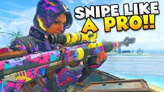 "How To ""NEVER MISS A SNIPE AGAIN!""   Black Ops 4 (Call Of Duty Tips)"