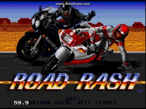 Road Rash (Sega Mega Drive) – Ravenking's Gameplay