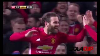 Video Manchester United 2 - 0 Hull City All Goals & EXTENDED Highlights - EFL CUP // 11/01/17