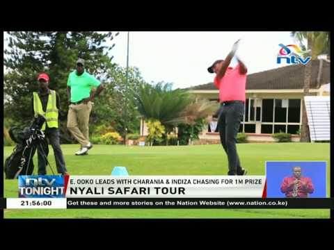Nyali Safari golf tour: Ooko leads with Charania and Indiza chasing for 1M prize