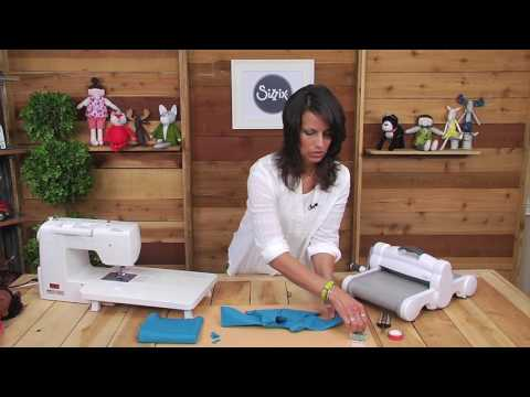 Sizzix Quilting: Spring Doll Top with Kid Giddy