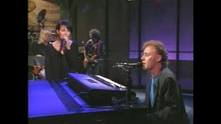"""Video thumbnail of """"Bruce Hornsby & Shawn Colvin, """"Lost Soul,"""" on Late Night, September 11, 1990"""""""