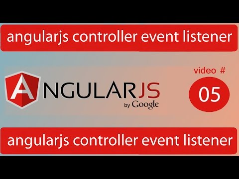 angularjs controller event listener