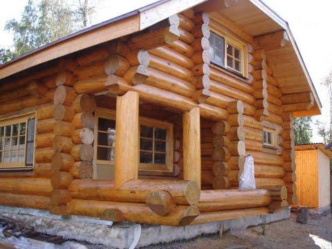 Как построить дом из бревна?