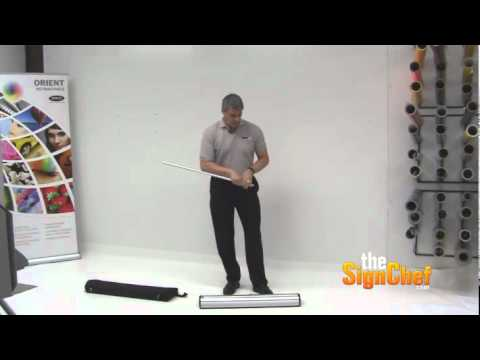 How to Set Up a Banner Stand (Premium Grade) - 6:04min