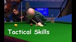 Ronnie O'Sullivan v Gary Wilson | Great Tactical Frame Ending