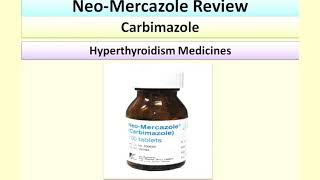 Neo-Mercazole Carbimazole Tablets Review |Medicine For Hyperthyroidism, Thyrotoxicosis,Thyroidectomy