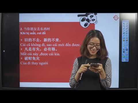 Mẫu câu an ủi bạn bè, người thân trong giao tiếp tiếng Trung cơ bản