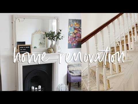Home Renovation Updates, Living Room and Hallway | DIYary Ep 10