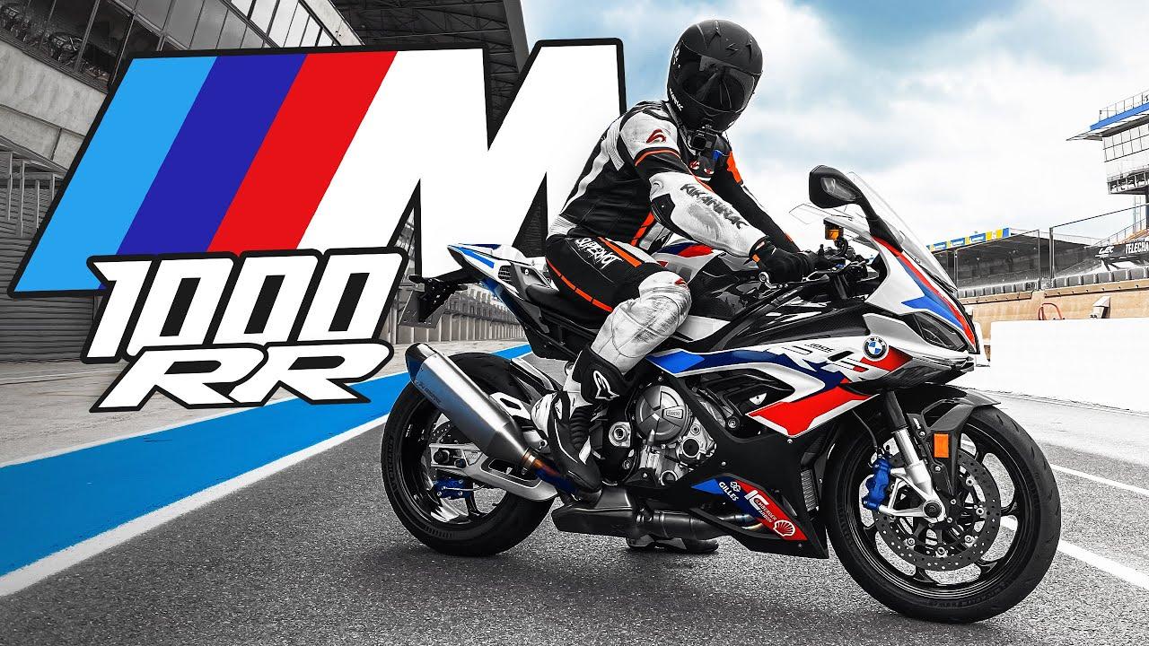 J'ESSAYE LA BMW M1000RR ! 🚀 (Une moto incroyable)