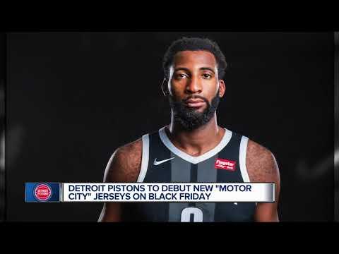 119dac746 Detroit Pistons unveil new  Motor City  uniforms
