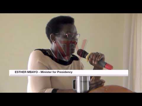 Minister Esther Mbayo warns RDCs against ignoring their duties