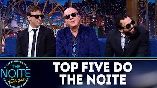 Top Five do The Noite  | The Noite (09/04/18)