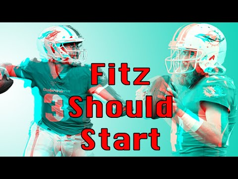 MIAMI DOLPHINS: Why Ryan Fitzpatrick should be the Week 1 Starter
