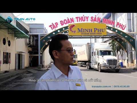 TRAN AUTO cung cấp xe tải đông lạnh cho Vua Tôm Minh Phú tại Cà Mau