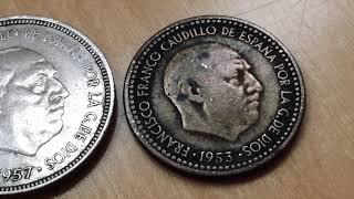 Monedas Raras 200 $$$ Price Rare Spain 🇪🇸 Coin Franco Peseta Ptas Coins Worth Money Too Look For