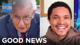 A 100-Year-Old Knight & A Possible Parallel Universe | The Daily Social Distancing Show