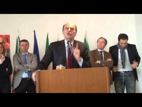 Bersani attacca Grillo
