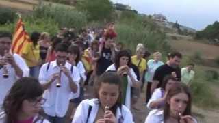 preview picture of video '2013 Canvi de Senyera Navàs a el Turó del Lladó'
