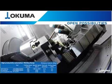 Okuma GENOS L2000 e with OGL Gantry Loader