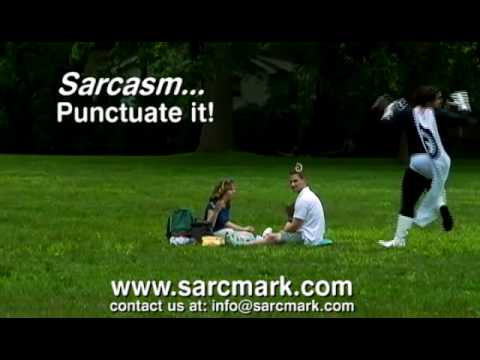 SarcMark: For When You're Not Smart Enough To Express Sarcasm Online