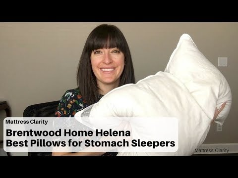 Brentwood Home Helena - Best Pillows for Stomach Sleepers