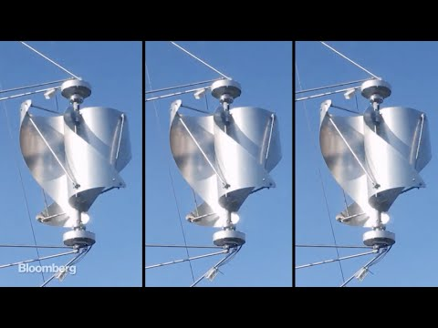 Wind turbine for strong winds