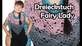 Dreieckstuch Häkelanleitung видео видео