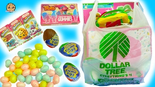 Dollar Tree Store Haul - Chocolate, Eggs, Easter Painting Crafts, Shopkins, Trolls Gummy