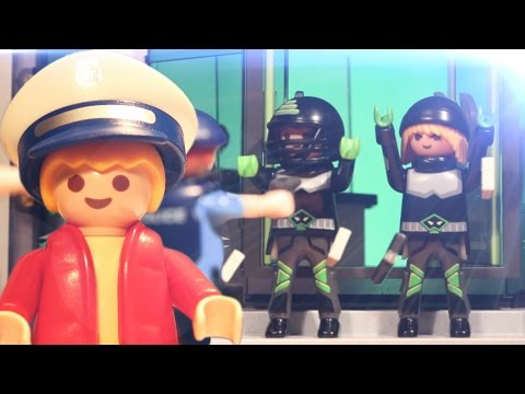 👮 BANKRÄUBER VON POLIZEI ÜBERRASCHT - Matz der Meisterdetektiv 1 - Playmobil RC Stop Motion deutsch