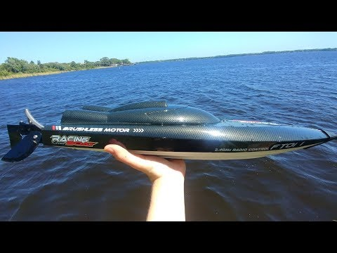 FAST and CHEAP RC Boat | Feilun FT011 Review
