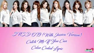 COLOR CODED LYRIC_SNSD CATCH ME IF YOU CAN OT 9 Japan vers.