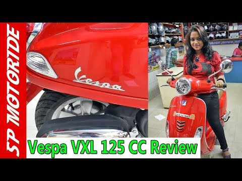 2018 Vespa VXL 125 Full Review in Hindi | Bike Review