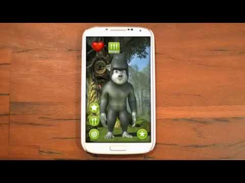 Video of Gary, the talking gorilla
