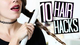 10 HAIR HACKS | 10 TRUCCHETTI CAPELLI CHE DEVI ASSOLUTAMENTE SAPERE! | Adriana Spink | Kholo.pk