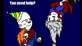 Trouble Bonding  [FNAF SL COMIC DUB ] Comic By Blustreakgirl