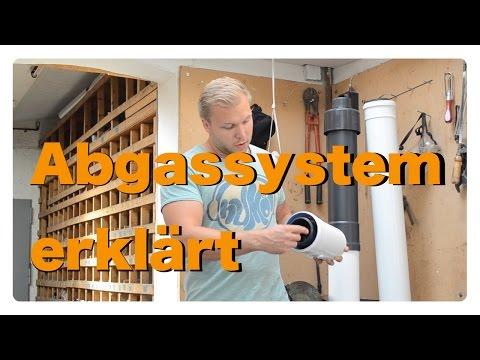 Aufbau und Funktion eines Abgassystems einer Brennwertheizung