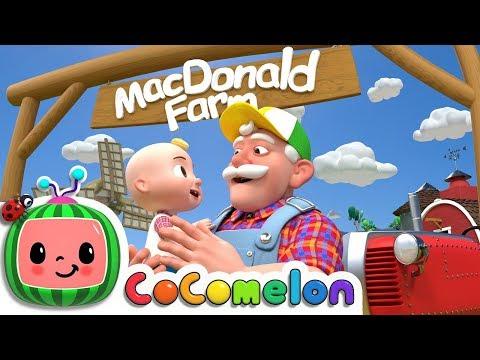 Old MacDonald | ABCkidTV Nursery Rhymes & Kids Songs